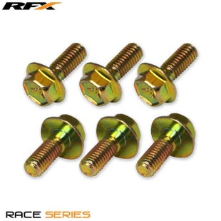 RFX Kit Rear Yamaha YZ YZF 125450 02 Brake Disc Bolt - Gold