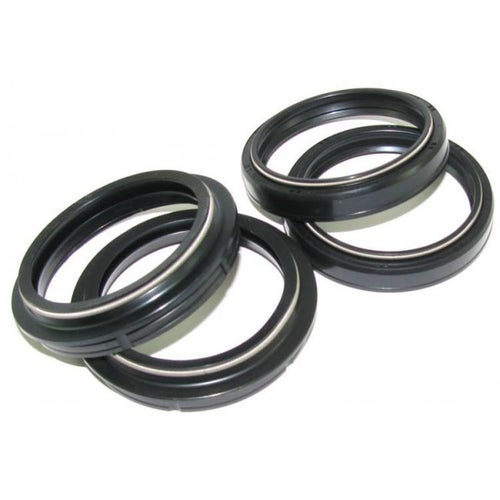 All Balls Fork and Dust Seal Kit 47x58x10 , Fork And Dust Seal Kit - Black