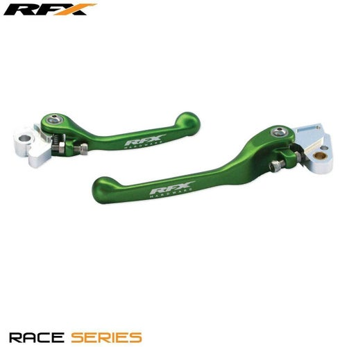 RFX Race Forged Flexible Lever Set Yamaha YZF426 450 0108 , Flexi Lever Set - Green