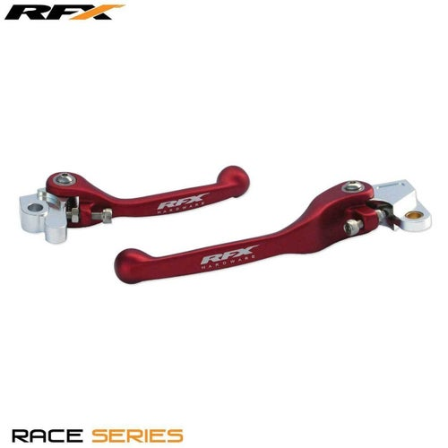 RFX Race Series Forged Flexible Lever Set Honda CRF150 0717 Flexi Lever Set - Red