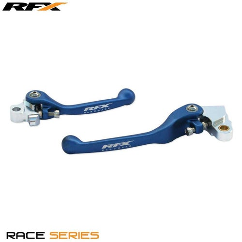 RFX Race Forged Flexible Lever Set Yamaha YZF450 0917 Flexi Lever Set - Blue