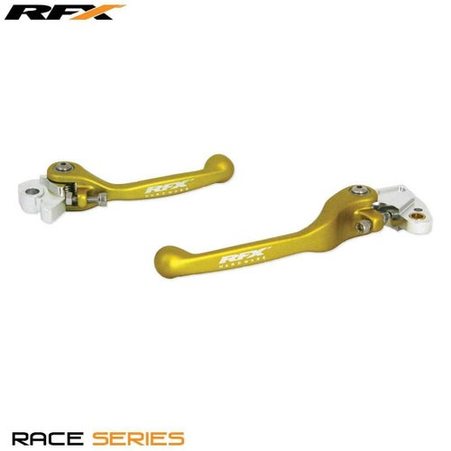 RFX Race Forged Flexible Lever Set Suzuki RM85 0513 Flexi Lever Set - Yellow