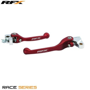 RFX Race Forged Flexible Lever Set Honda CRF250 0717 , Flexi Lever Set - Red