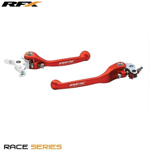 RFX Race Forged Flexible Lever Set KTM Various Brembo Brake Magura Flexi Lever Set - Red
