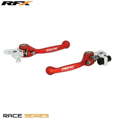 RFX Race Forged Flexible Lever Set KTM Various Brembo Brake Brembo , Flexi Lever Set - Red