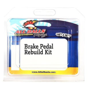 All Balls Rear Brake Pedal Rebuild Kit KTM 125525 98 , Brake Re-Build Kit - Black
