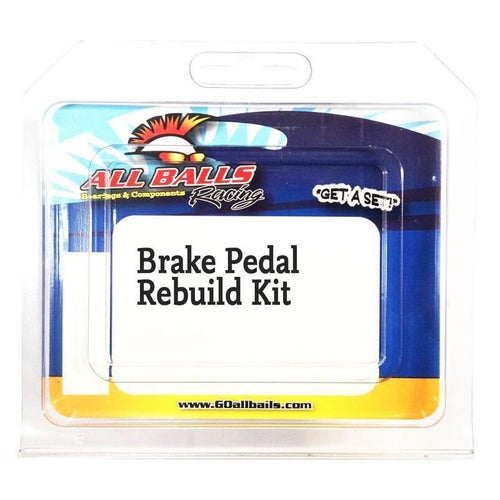 All Balls Rear Brake Pedal Rebuild Kit KTM 125525 98 Brake Re-Build Kit - Black