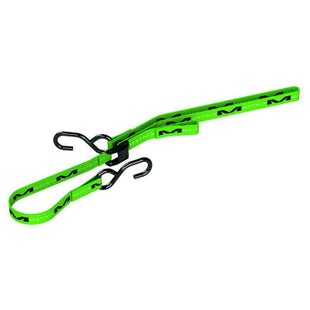 "Tie Downs Matrix M1 Standard TieDown - Pair 1.0"" Green"