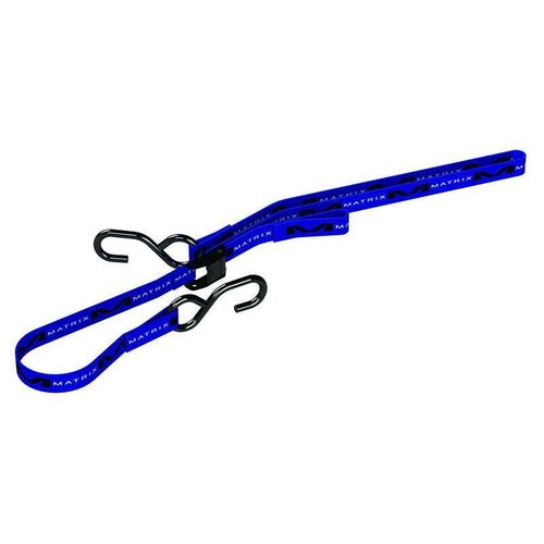 "Matrix M1 Standard TieDown Tie Downs - Pair 1.0"" Blue"