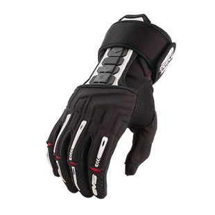 EVS Adult Wrister Glove Wrist Brace Pair Motocross Gloves - Black