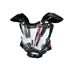 EVS Vex Chest Protector Boys Torso Protection - Clear Black