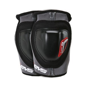 EVS Adult Glider Elbow Guards Pair Elbow Protection - Black Red