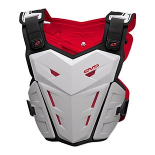 EVS Adult F1 Chest Protector Torso Protection - White