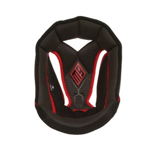 Helmet Accessory Bell Replacement Moto 9 Top Pad Liner Black - Black