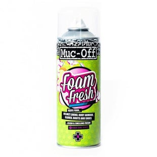 Muc Off Foam Fresh Helmet Sanitizer Aerosol Helmet Accessory - 400ml