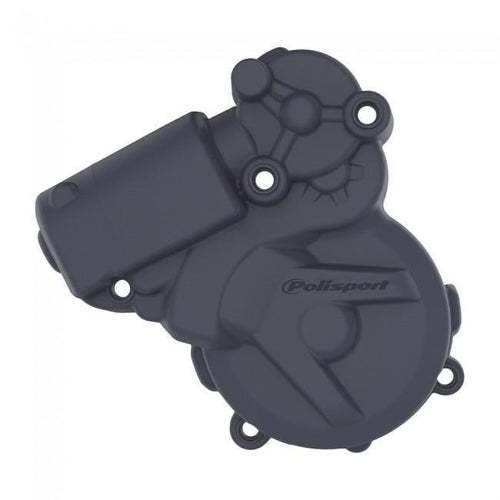 Polisport Plastics IGNITION COVER PROTECTOR KTM HUSKY EXC250 300 1116 FREERIDE 25 Ignition Cover - Black