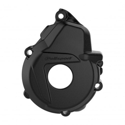 Polisport Plastics IGNITION COVER PROTECTOR KTM HUSKY EXCF250 350 1718 FX350 17 Ignition Cover - Black