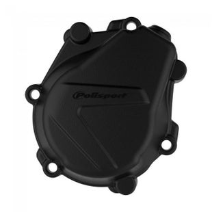 Polisport Plastics IGNITION COVER PROTECTOR KTM HUSKY EXCF450 500 1718SXF450 161 Ignition Cover - Black