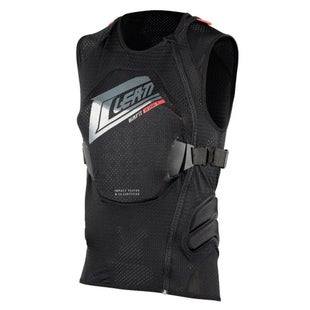 Leatt 3DF AirFit MX Motocross and Enduro Body Vest Body Protection - Black