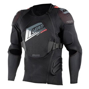 Leatt 3DF AirFit MX Motocross and Enduro Body Protector Torso Protection - Black