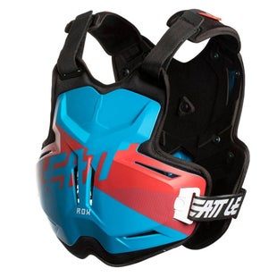 Leatt 25 ROX MX Motocross and Enduro Chest Protector Torso Protection - Blue Red