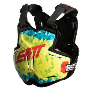 Leatt Chest Protector 25 ROX Torso Protection - Lime Teal