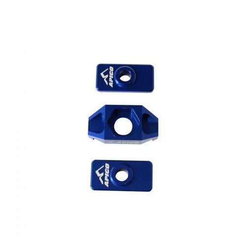 Apico Rear Axle Block KTM SX50 09 Axle Block - 18 Blue