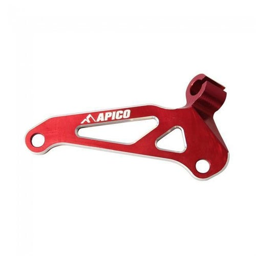 Apico Clutch Cable Guide Honda CRF250R 14 Cable Guide - 17 Red