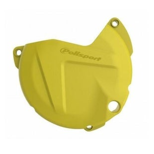 Polisport Plastics Clutch Cover Protector KTM EXC250 300 Ignition Protector - Yellow