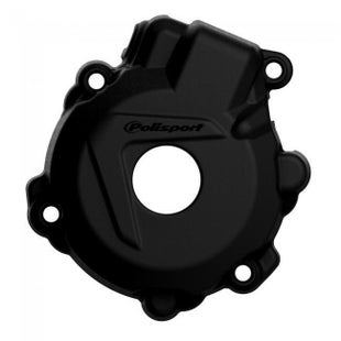 Polisport Plastics Ignition Cover Protector KTM EXCF250 1416 Ignition Protector - Black
