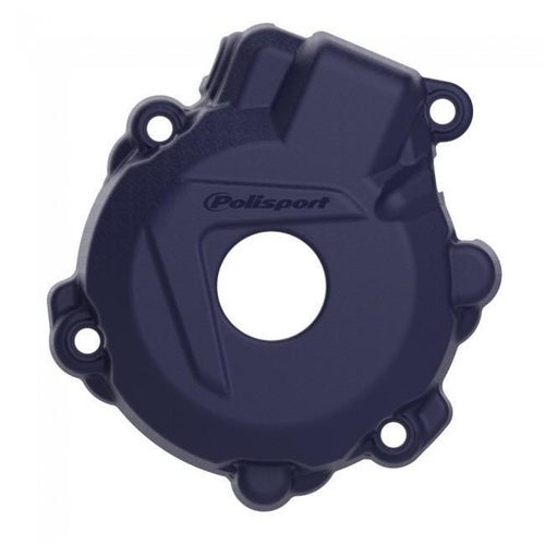 Polisport Plastics Ignition Cover Protector KTM EXCF250 1416 Ignition Protector - Blue