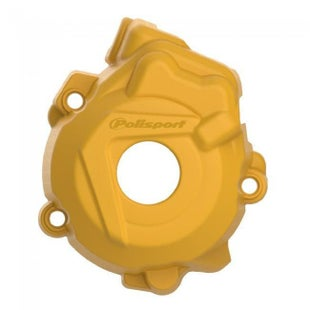 Polisport Plastics Ignition Cover Protector Husqvarna FC250 350 1415 Ignition Protector - Yellow