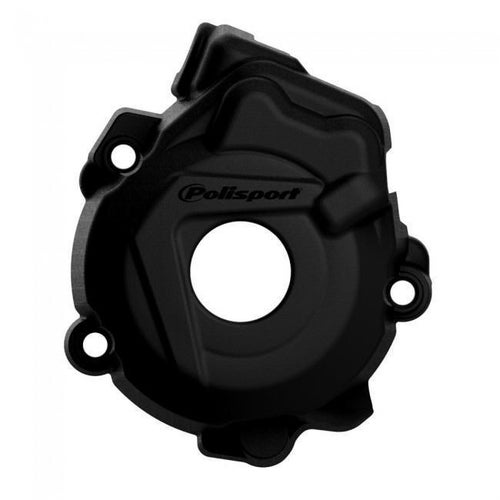 Polisport Plastics Ignition Cover Protector Husqvarna FC250 350 1415 Ignition Protector - Black