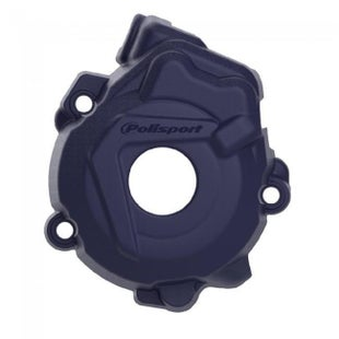 Polisport Plastics Ignition Cover Protector Husqvarna FC250 350 1415 Ignition Protector - Blue