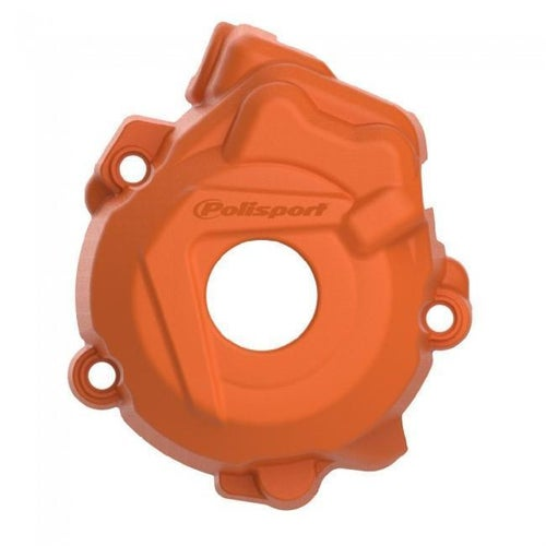 Polisport Plastics Ignition Cover Protector Husqvarna FC250 350 1415 Ignition Protector - Orange