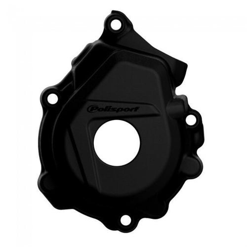 Polisport Plastics Ignition Cover Protector Husqvarna FC250 350 1617 Ignition Protector - Black