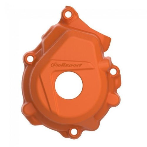 Polisport Plastics Ignition Cover Protector Husqvarna FC250 350 1617 Ignition Protector - Orange