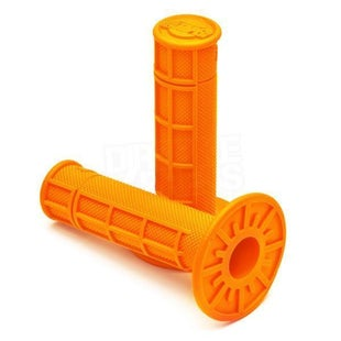 Pro Taper Single Density 1 2 Waffle MX Handlebar Grip - Orange