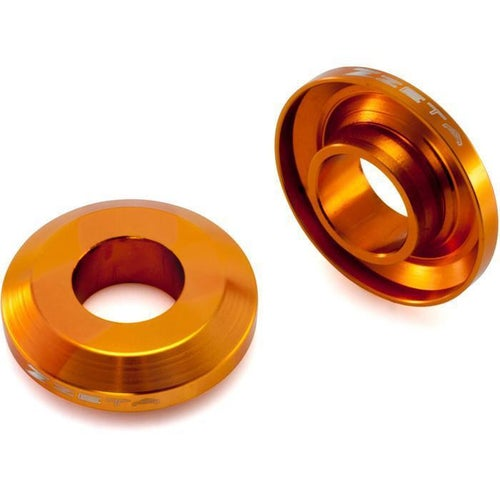 Zeta Fast Change Wheel Spacer Rear KTM EXC inchs Wheel Spacer - Orange