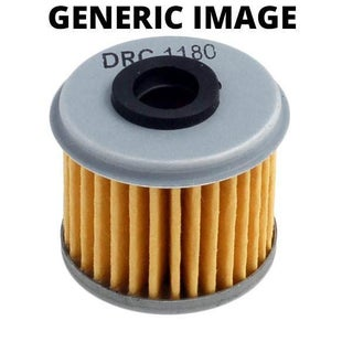 DRC Oil Filter Husqvarna TC TE250510 0209 SM400R 0405 SM450 510 Oil Filter - Black