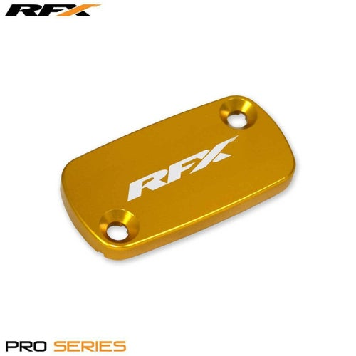 RFX Pro Front Brake Res Cap Honda CRF150450 C 250 450 0418 Clutch Cover - Gold