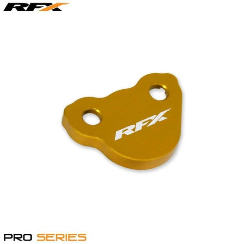 RFX Pro Rear Brake Res Cap Honda CR125 250 0207 Clutch Cover - Gold