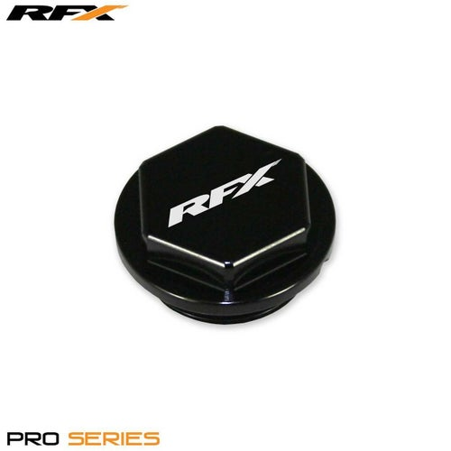RFX Pro Series Front Brake Res Cap KTM SX65 1415 Clutch Cover - Black