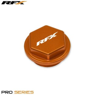 RFX Pro Series Front Brake Res Cap KTM SX SXF 125530 1417 Clutch Cover - Orange