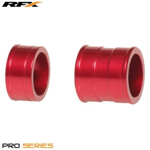 RFX Pro Wheel Spacers Front Honda C 250 450 0417 , Wheel Spacer - Red
