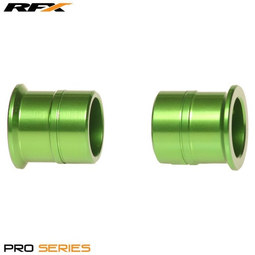 RFX Pro Wheel Spacers Front Kawasaki KX125 250 0608 Wheel Spacer - Green