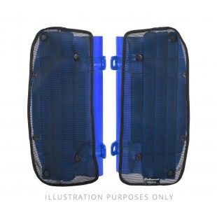 Polisport Plastics Mesh Covers For Rad Louvres Yamaha YZ250F 450F 14 Radiator Louver - Blue
