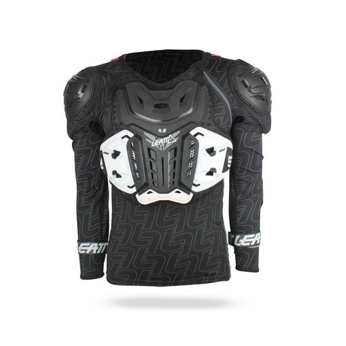 Leatt 4.5 Body Protection MX Motocross and Enduro Jacket Body Protection - Black