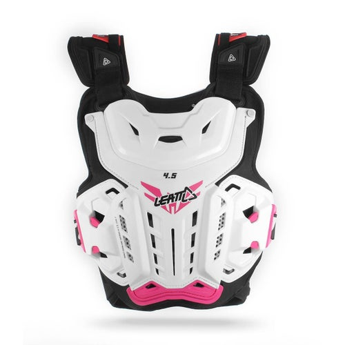 Leatt MX and Enduro 4.5 Jacki Womens Body Protection - White Pink