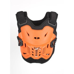 Leatt Kids MX and Enduro Chest Protector 2.5 Torsobescherming - Orange Black